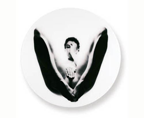 View-Insight-Intention II 1994-1996 c-print diameter 77 cm