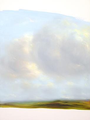 Sky 2003 oil on canvas 120 x 90 cm