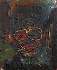 Papa Gandhi 2006 oil on canvas 100 x 81 cm