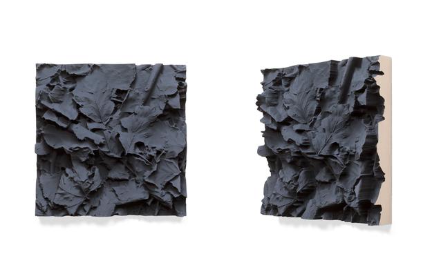 Desat Ground, 2015/2016 pigmented polyvinyl, polyurethane 50 x 50 cm