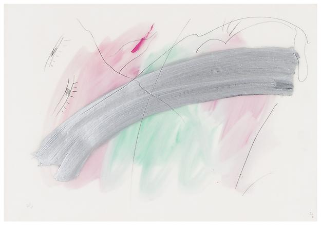 Elis Eriksson Untitled 1980-1989 mixed media on paper 48 x 60 cm
