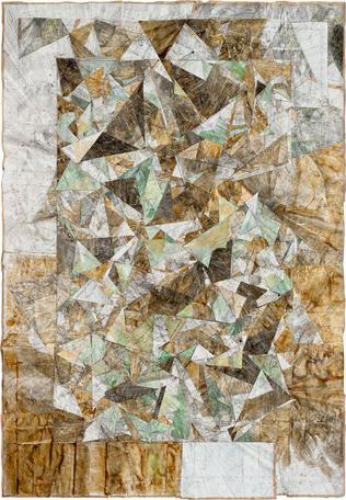 Untitled 2014 mixed media 271 x 206 cm