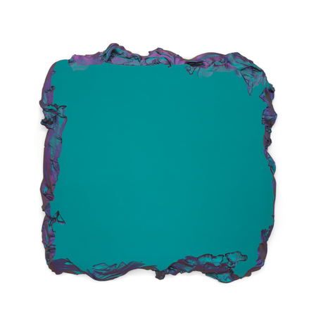Green to Lilac, 2015 Interference pigment, polyurethane 150 x 150 cm