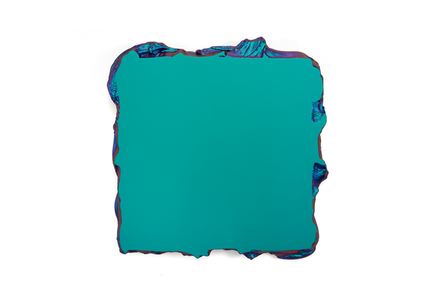Green to Lilac, 2015 Interference pigment, polyurethane 50 x 50 cm