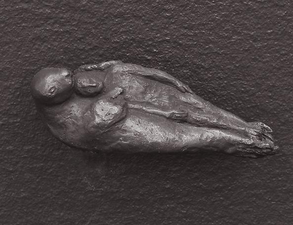 Untitled  2014 bronze ed. 6 5 x 5 x 12 cm