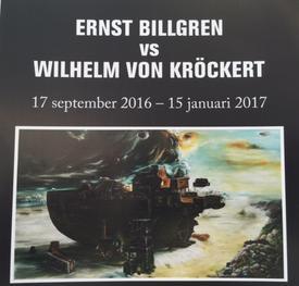 Ernst Billgren and Wilhelm von Kröckert at Borås Konstmuseum