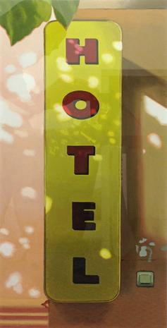 Hotel 2015 giclée print 65 x 65 cm Ed. 30  SEK 5000