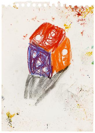 Jarl Ingvarsson Untitled 2011-2012 mixed media on paper 40 x 31 cm