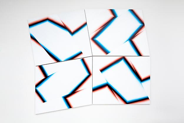 Frontiers, Pulse 2011 oil on board 200 x 244 cm