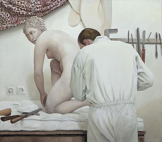 Osmos 2009 oil on canvas 130 x 150 cm