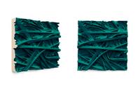 PG7/18 Grass, 2015/2016 pigmented polyvinyl, polyurethane 50 x 50 cm