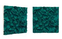 PG7/18 Ground, 2015/2016 pigmented polyvinyl, polyurethane 100 x 100 cm