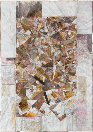 Untitled 2014 mixed media 276 x 202 cm