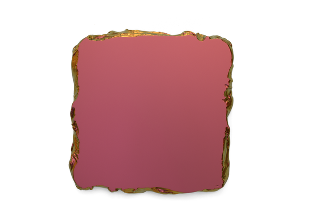 Red to Gold, 2015 Interference pigment, polyurethane 50 x 50 cm