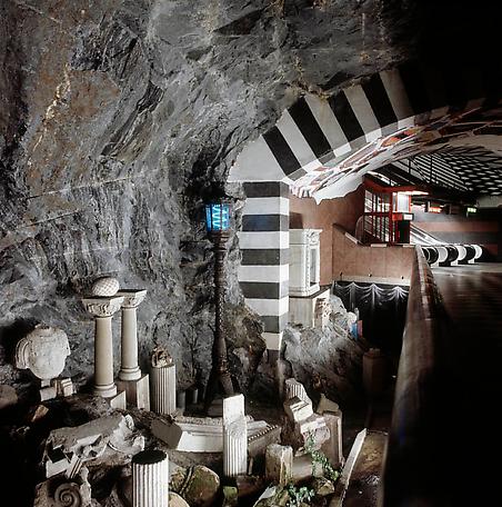 Kungsträdgården Subway Station, 1977, Stockholm, Sweden