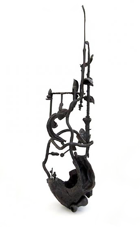 Island 2012 bronze 87 x 25x 26 cm