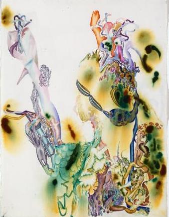 Phosforos no 3 2007 watercolour on paper 97 x 74 cm