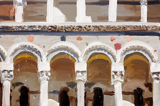 Duomo Pisa #3 2008/2009 oil on canvas 110 x 165 cm
