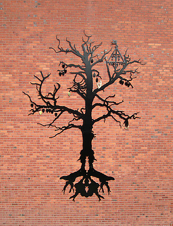 The Other Tree 2012 public commission at The College for Dance and Circus, Stockholm