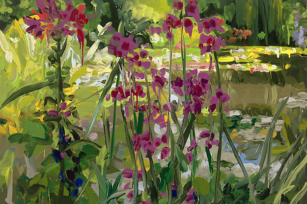 Garden 7  2014 oil on canvas 80 x 120 cm