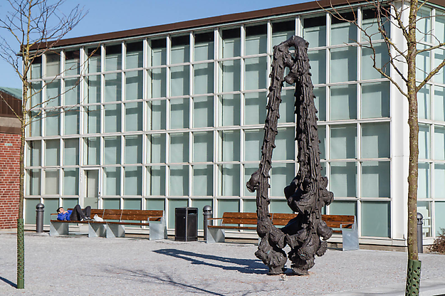 Into the Wild, 2013 public commission, Lund University, Sweden