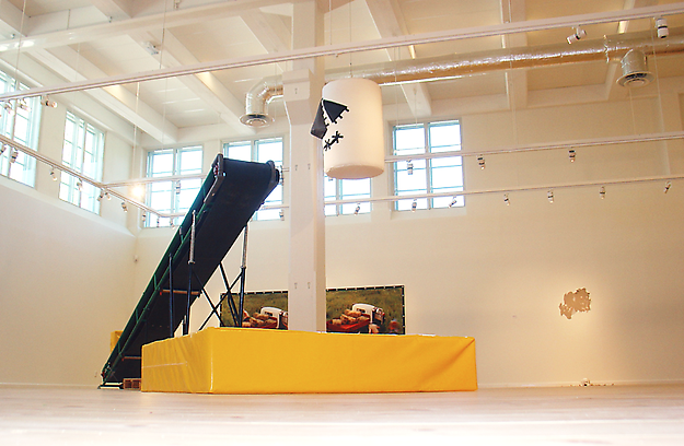 Ride 1:3 installation view from Eskilstuna Konstmuseum, Sweden 2006