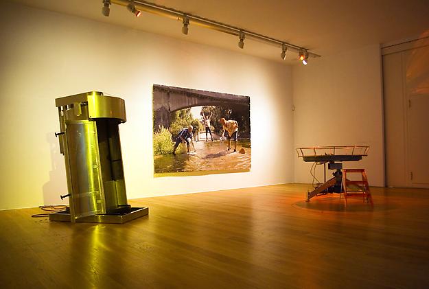 Ride1:4   installaltion view from MARCO, Museo de Arte Contemporane de Vigo, 2008