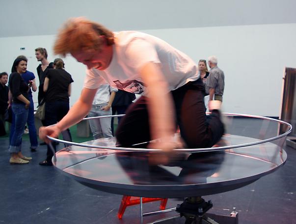 Ride1:4   installation view from Kunstverein, Frankfurt, 2008