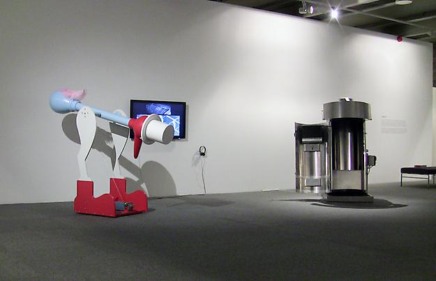 Ride.1:4A      installation view from Bergen Kunstmuseum Bergen, 2010.