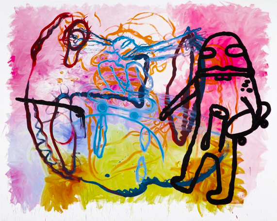 Untitled 2010 oil on canvas 240 x 300 cm