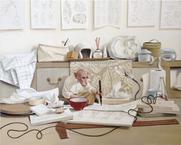 Apophany  2015 oil on canvas 100 x 125 cm