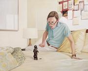 Residue 2015 oil on canvas 130 x 160 cm