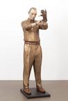 World Maker 2014 bronze 180 x 60 x 60 cm