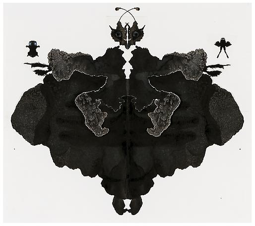 Tilda Lovell Transformation 2012 collage, black ink on paper 37 x 40 cm