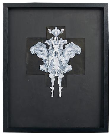 Lucifer 2014 ink on paper 55 x 45 cm