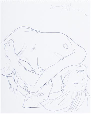 Tommy Östmar Untitled 2006-2007 ballpoint pen on paper 59 x 50 cm
