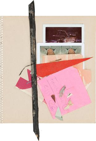 Untitled 2014 paper 37 x 33 cm