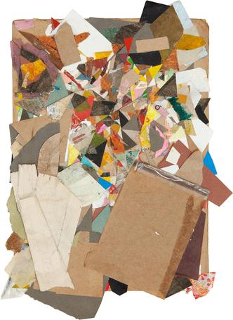 Untitled 2013 - 2014 mixed media 41 x 31 cm