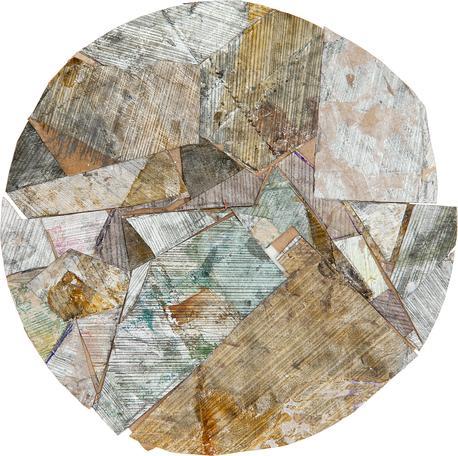 Untitled 2014 mixed media 26 x 26 cm