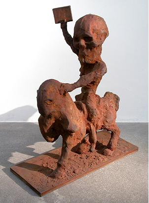 The Two 1997 iron 70 x 59 x 24.5 cm