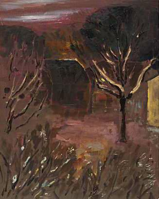 Höl By 2008 oil on canvas 92 x 73 cm