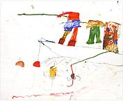 Fiskarpojkarna 2004 oil on canvas 189 x 210 cm