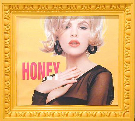 Honey 1991 mixed media 74 x 77.5 cm
