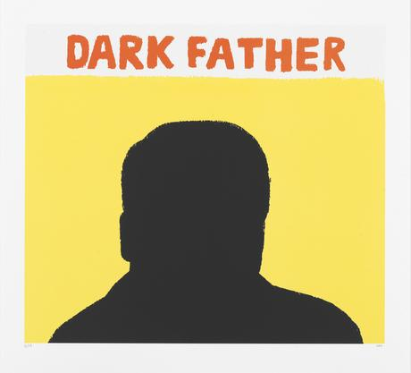 Dark Father 2014 silkscreen 56 x 60 cm Ed.25  SEK 5000