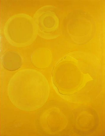 Untitled 1994 wax on canvas 140 x 100 cm