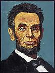 Lincoln, Early 1865  2005 oil on canvas 51 x 40.5 cm