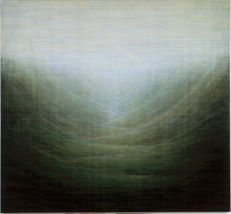 Untitled 1995 oil on panel 185 x 200 cm