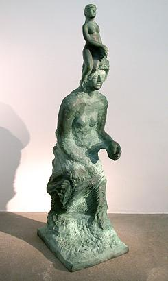 Order and Progress 1999 bronze 117 x 38 x 34.5 cm