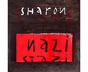 Israel Nazi 2002 - 2003 mixed media on paper 50 x 50 cm