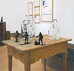 Very Ape 2000 installation, mixed media  dimensions vary